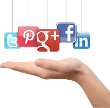 Using Facebook and Twitter to generate leads
